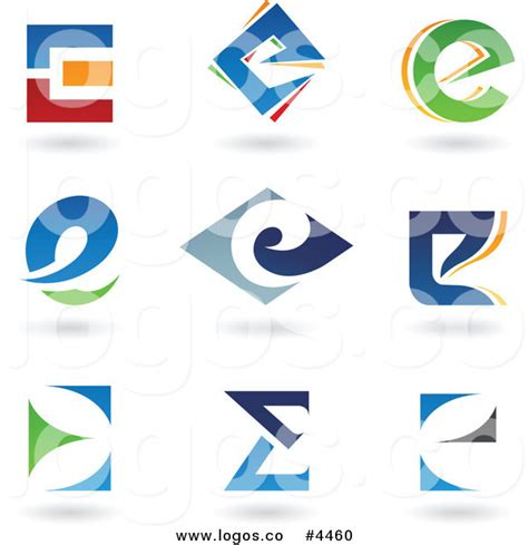 e by design 9 alphabet letter e icons royalty free logos by cidepix