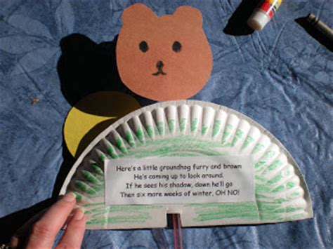 groundhog day books and crafts no time for flash cards 478 | groundhog 014