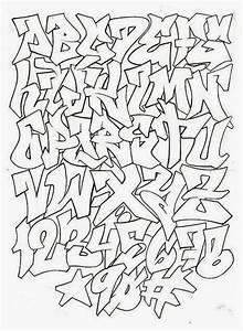 Graffiti Creator Styles: Graffiti Alphabet Block Style