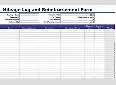 Free Mileage Log Templates Word, Excel Template Section