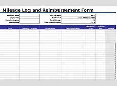 30 Printable Mileage Log Templates Free Template Lab