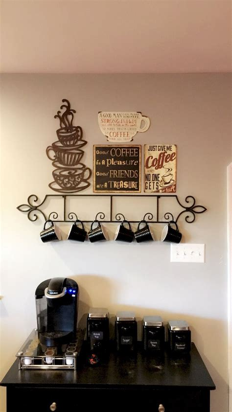 They are worded in puns to old. 35 DIY Mini Coffee Bar Ideas for Your Home | Coffee bar design, Diy coffee bar, Coffee theme kitchen