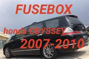 Letak Fusebox Honda Odyssey 2007