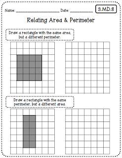 17 best ideas about area and perimeter worksheets on