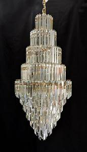 Murano Glass Chandelier Modern : huge 5 39 mid century modern murano glass crystal prism chandelier for sale ~ Sanjose-hotels-ca.com Haus und Dekorationen