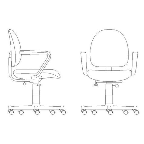office desk elevation cad block office chair office chair elevation cad block office