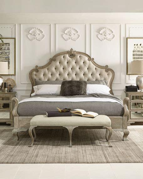 king bed furniture set bernhardt ventura tufted king bed