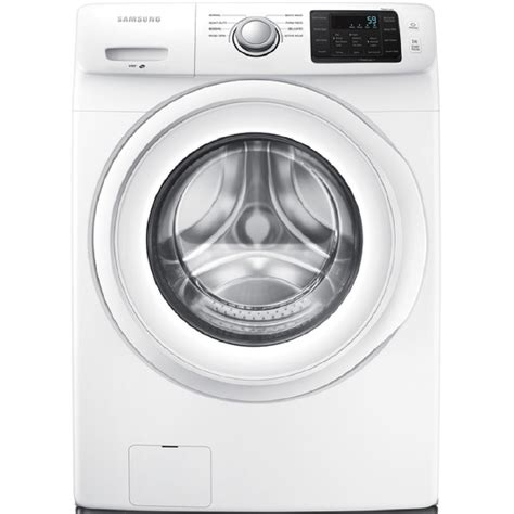 cleaning front load washer shop samsung 4 2 cu ft high efficiency stackable front load washer white energy star at lowes com