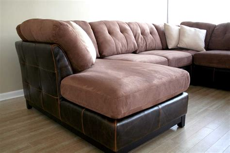 microfiber or leather sofa wholesale interiors 3126 j204 microfiber leather sectional