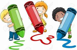 Crayon clipart for kid - Pencil and in color crayon ...