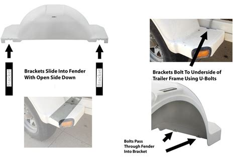 How To Mount Boat Trailer Fenders by Availability Of Mounting Brackets For Fulton Trailer
