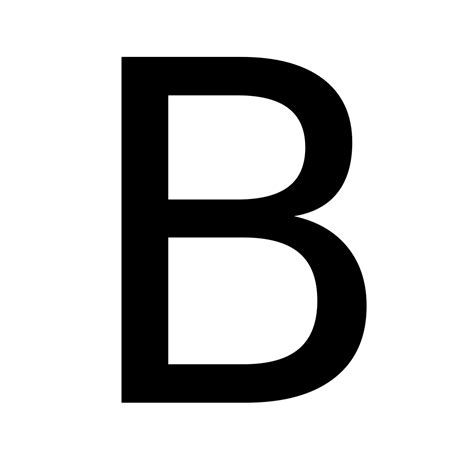 B B by File Letterb Svg Wikimedia Commons