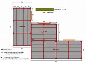 Terrasse Bois Sur Plot Beton : terrasse bois sur plots beton 4 la pose sur poutres ~ Premium-room.com Idées de Décoration