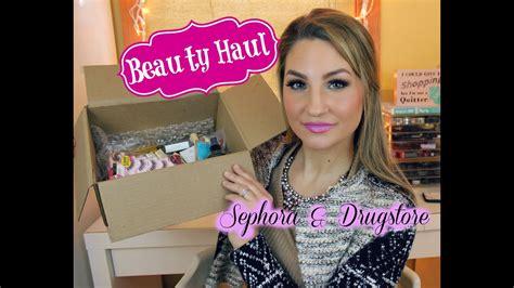sephora milani cosmetics haul youtube