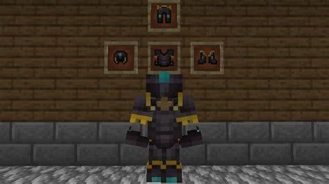 Better Netherite Armor Minecraft Texture Pack