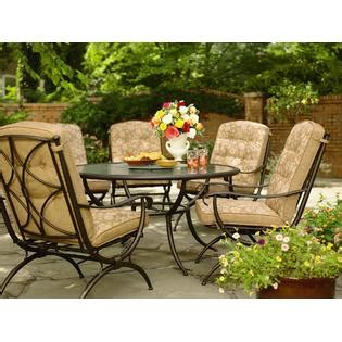 Kmart Smith Patio Furniture by Patio Dining Table With Lazy Susan Improve Your