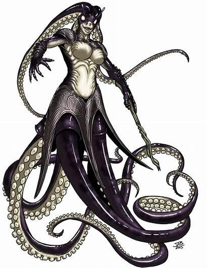 Cecaelia Witch Deviantart Prodigyduck Fantasy Creatures Female