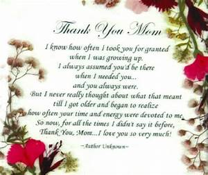 """Say """"Thank You Mom"""" With a Timeless Floral Plaque - Gifts"""