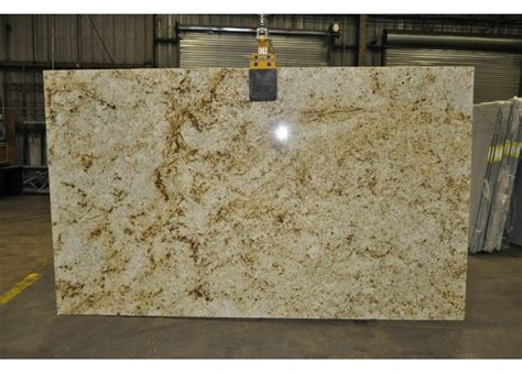 new colonial gold granite slab counter top