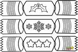 Coloring Sheets Crackers Cracker Colouring Template Printable Templates Sketchite Craft sketch template