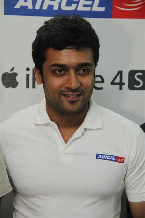 Surya Launches Aircel Iphone Gallery