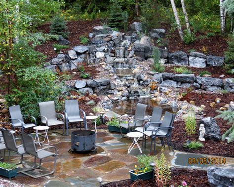water features patio terra landscaping