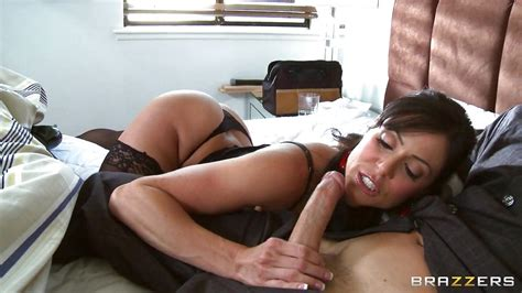 Johnny Sins Kendra Lust In Sexy Milf Wearing Stocking Giving A Hot Blowjob Hd From