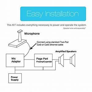 Valcom Wiring Diagram
