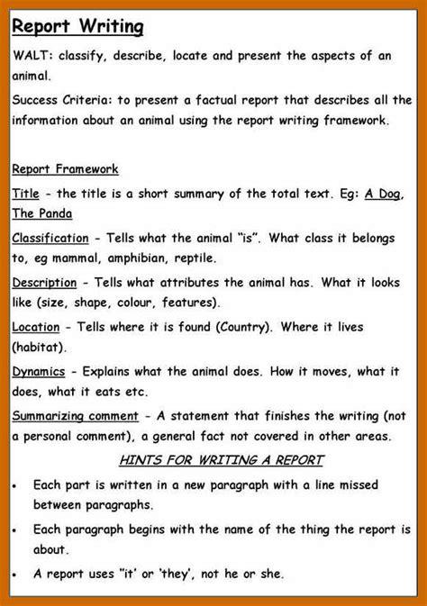 student report examples resumetablet