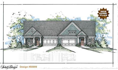 house plans for families multi family home plans triplex house plans design
