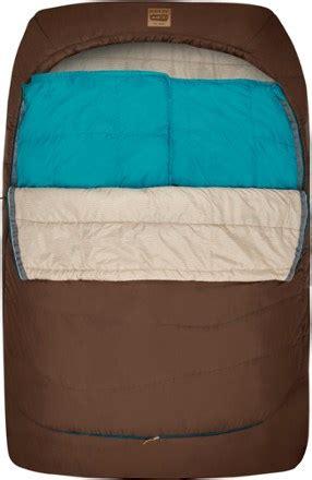 kelty trucomfort doublewide  double sleeping bag rei