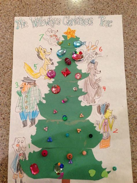 willowbys christmas tree story sequence craft