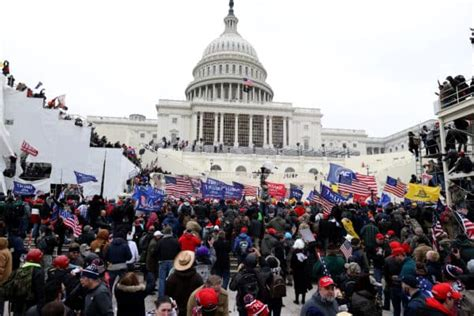 Justice Department Condemns Violence at US Capitol Amid ...