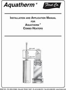 Aquatherm Wiring Diagram