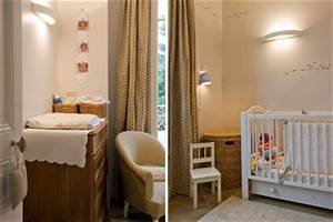 amenager et decorer la chambre de bebe With amenager un coin bebe dans la chambre des parents