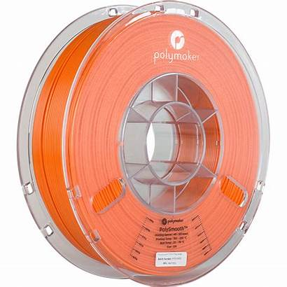 Polysmooth Polymaker Orange Filament Polyflex 3d Transparent