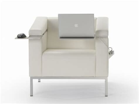 Intelligent P@d Ichair With Folding Swivel Trays For