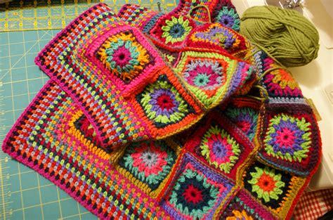 crochet blanket misty morning granny square crochet blanket adaliza