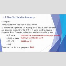The Language And Tools Of Algebra  Ppt Download