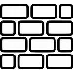 Brick Wall Lego Svg Icon Texture Drawing