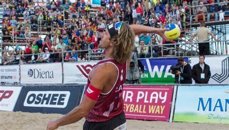 CEV Eiropas pludmales volejbola čempionāta fināla izloze ...