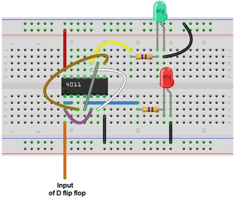 How Build Flip Flop Circuit With Nand Gates