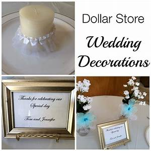 dollar store wedding decorations With dollar tree wedding decoration ideas
