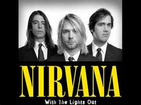 with the lights out nirvana with the lights out