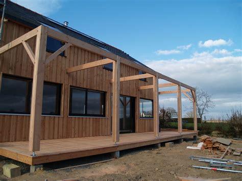 pergola bois plan construction pergola construction de notre maison bois