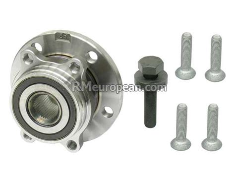 Volkswagen Jetta Se Sedan 2.5l L5 Wheel Hub With Bearing