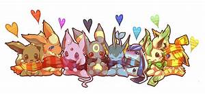 Chibi Pokemon Eevee | blush chibi eevee eeveelution espeon ...