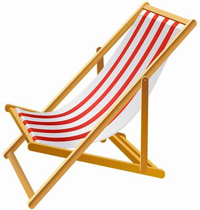 Chair Beach Transparent Clip Clipart Vacation Summer