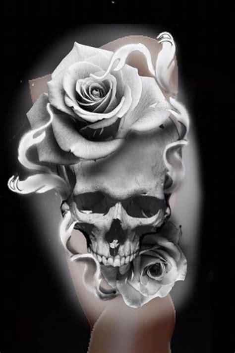thisnthat skulls totenkoepfe totenkopf tattoo tattoo vorlagen