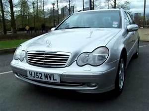 Mercedes C220 Cdi 2002 : mercedes c220 cdi avantgarde estate 2002 youtube ~ Medecine-chirurgie-esthetiques.com Avis de Voitures